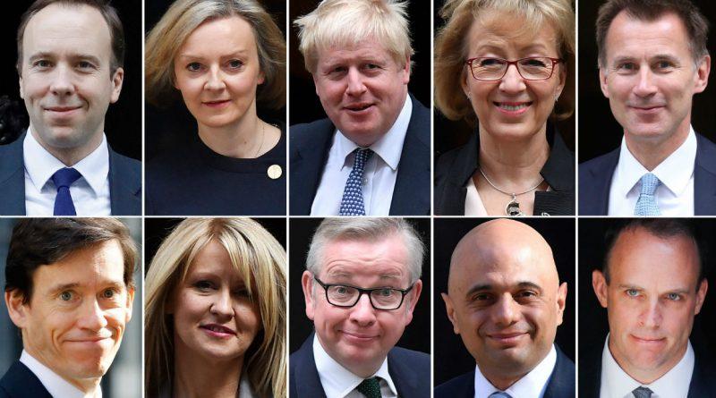 Los candidatos declarados o potenciales para reemplazar a Theresa May