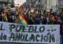«Ni Evo ni Mesa» la nueva exigencia de grupos cívicos bolivianos