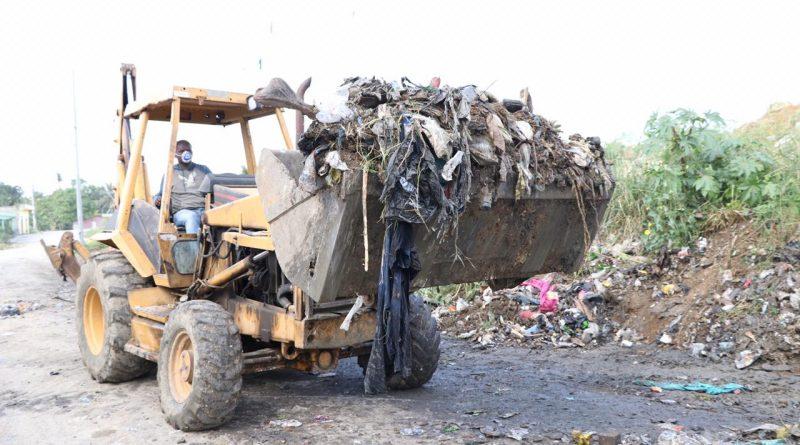Compañía de Limpieza Urbana COMLURSA recoge 800 toneladas diarias de desechos solidos