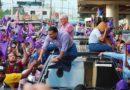 Luis Alberto retoma contacto con electores de Santo Domingo Este.