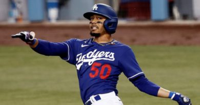 Los Dodgers aseguran a Mookie Betts hasta la temporada de 2032