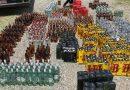 PN desmantela fábrica clandestina de ron y ocupa 68,400 litros de alcohol